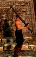 Old Knight Greatsword IG