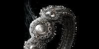 Untrue White Ring