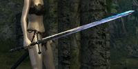 Silver Knight Straight Sword