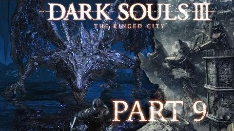 Dark Souls 3 The Ringed City NG BLIND - Part 9 - Darkeater Midir, The Abyss Dragon-2