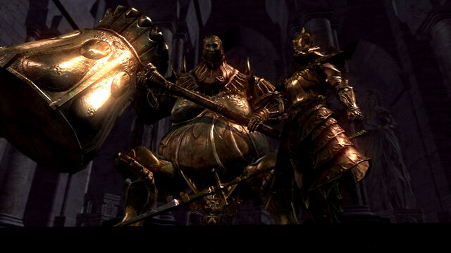 File:Dragon Slayer Ornstein and Executioner Smough.jpg