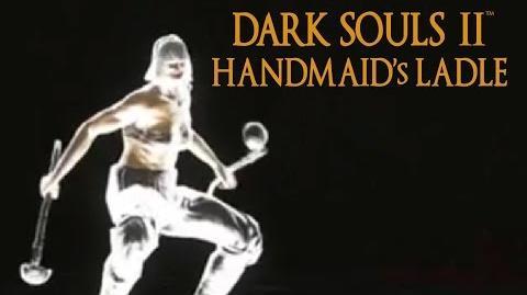 Dark Souls 2 Handmaid's Ladle Tutorial (dual wielding w power stance)