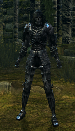 Dark set female