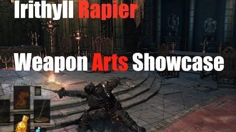 Dark Souls 3 Irithyll Rapier - Weapon Arts Showcase