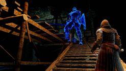 Blue sentinel encounter