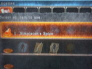 Simpleton's spice .