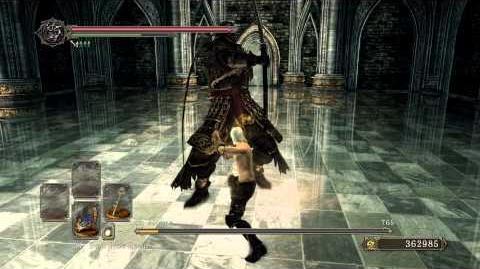 Dark Souls II - Sir Alonne's Secret Death Animation