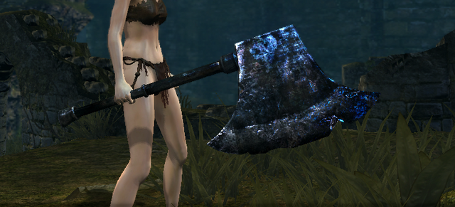 File:Golem Greataxe in game.png