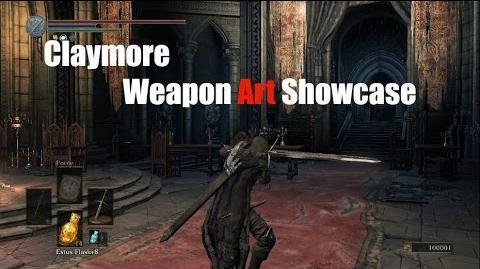 Weapon Arts Showcase Claymore