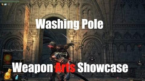 Dark Souls 3 Washing Pole - Weapon Arts Showcase