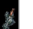 Black Flamestone Dagger