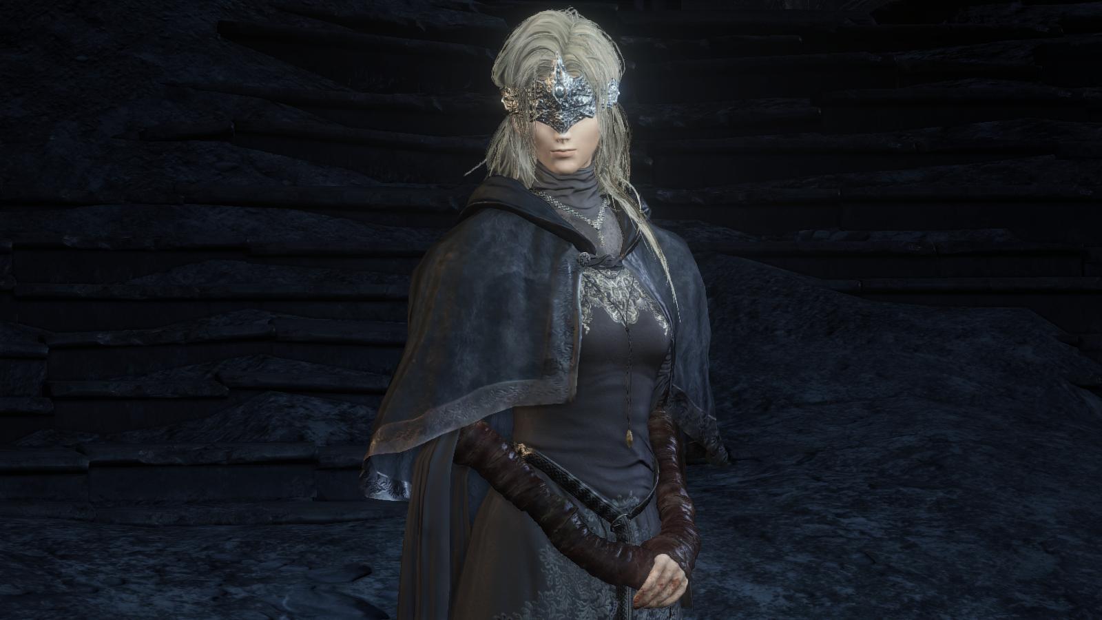 Dark Souls 3 Fire Keeper Cosplay: Image - Blind Fire Keeper.jpg