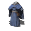 Cleric Blue Robe