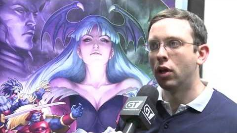 Darkstalkers Resurrection - NYCC 12 - Post-Announcement Interview - HD video
