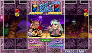 Super Puzzle Fighter II Turbo Anita and Donovan Screen Shot