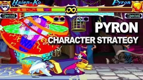 Darkstalkers Resurrection - Pyron Character Strategy