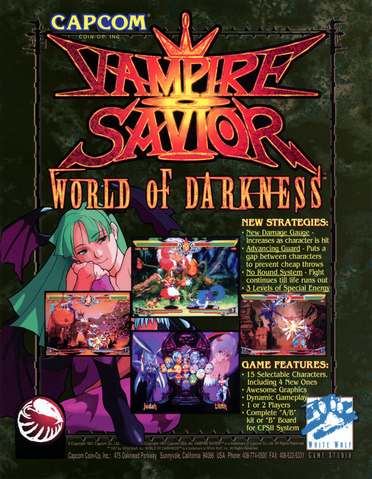 File:Vampire Savior World of Darkness US Flyer.png