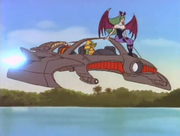 Darkstalkers Animated Series Rikuo Flying Fish