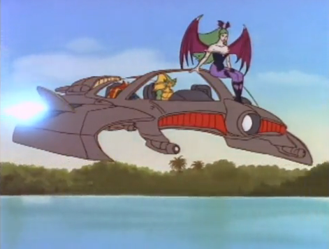File:Darkstalkers Animated Series Rikuo Flying Fish.png