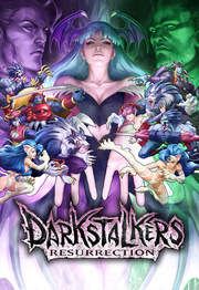 Darkstalkers Resurrection Poster Small
