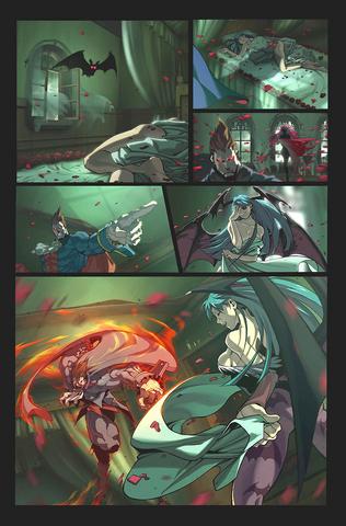 File:Capcom Fighting Evolution Demitri Ending.png