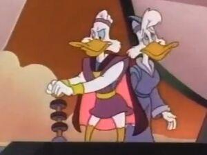 The Secret Origins of Darkwing Duck - Darkwing's parents