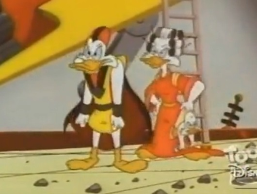File:The Secret Origins of Darkwing Duck - Negaduck's parents.jpg