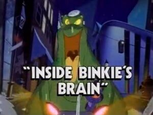 Inside Binkie's Brain - Slug front
