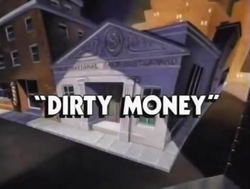 Dirty Money title card