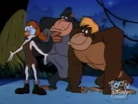File:Apes of Wrath - Beatrice calls party.jpg