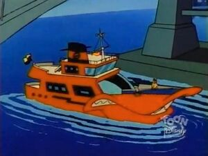 Bad Luck Duck - Negaduck's yacht