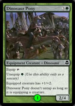 Dinosaur Pony Droidikar