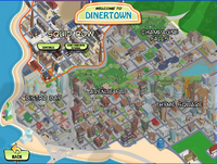 Dt experience dinertown map