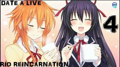 デート・ア・ライブ 凜緒リンカーネイション Date A Live Rio Reincarnation (Walkthrough 攻略 part 4) Day 1 Tohka & Yuzuru
