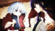 Tohka VS Origami pillows war