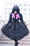 DATE-A-LIVE-cosplay-Tokisaki-Kurumi-cosplay-dating-Gothic-Lolita-dress