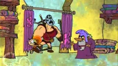 Dave the Barbarian 1x06 The Terror of Mecha-Dave