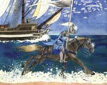 Mandorallen and Barak's Ship
