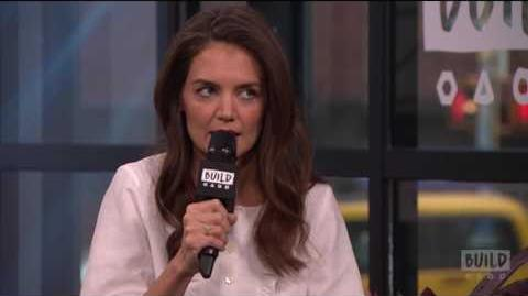 Katie Holmes Discusses Reprising Her Role As Jackie Kennedy