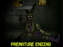 Premature ending
