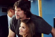 Peter Reckell and Kristian Alfonso