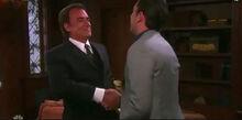 Andre Chad hand shake