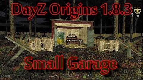 DayZ Origins 1.8.3 Small Garage Build Guide-2