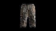 Beige Canvas Pants Model (R)