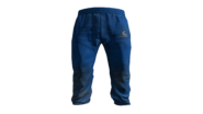 Light Blue Tracksuit Pants Model (P-W)