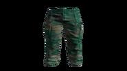 Green Paramedic Pants Model (D-BD)