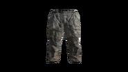 Grey Canvas Pants Model (R)