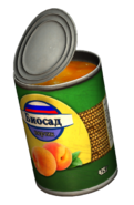 Canned Peaches (Open)