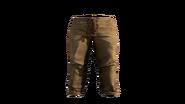 Leather Pants Beige Model (P-W)