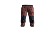 Red Canvas Pants Model (P-W)